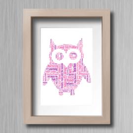 Owl-Word-Cloud