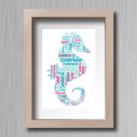 SeaHorse-Word-Cloud-Gift-2