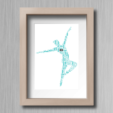 Contemporary-Dancer-Personailsed-Word-Cloud-Gift-1